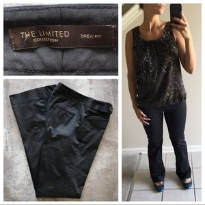 The Limited Drew Fit Trouser Black Size 4